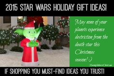 2015 Star Wars Holiday Gift Ideas! - Raising Soldiers 4 Christ