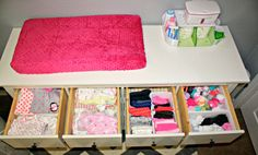 I will never be this organized, but I will try.