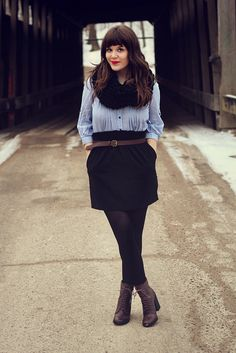 love this outfit for a mild winter day   Selective Potential
