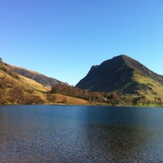 Buttermere looking towards Fleetwith Pike and Honister Pass