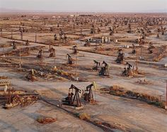 Oil Fields #19a & #19b, Belridge, California by Edward Burtynsky on artnet Auctions