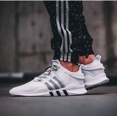 Adidas Stan Smiths are extremely trendy and they go with lots of combinations. Adidas Primeknit technology is perfect for the marathon runner. You can't fail with Adidas. Sneakers Mode, Sneakers Fashion, Fashion Shoes, Adidas Sneakers, Mens Fashion, Addidas Shoes Mens, Cool Mens Sneakers, Shoes Sneakers, Sneakers Style
