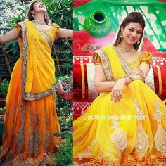 Checkout this divyanka yellow designer lehenga saree  Fabric Info : Saree- Yellow 60 gm Blouse- Yellow brocket(1mtr) Chaniya- Yellow brocket (2 mtr)  Price : 2999 INR Only ! #Booknow  CASH ON DELIVERY Available In India !  World Wide Shipping !   For orders / enquiry  WhatsApp @ 91-9054562754 Or Inbox Us  Worldwide Shipping !  #SHOPNOW  #fashion #lookbook #outfitsociety #fashiongram #dress #model #urbanfashion #luxury #fashionstudy #famous #style #fashionkiller #swag #classy #cute #shopping…