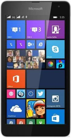 Microsoft Lumia 640 LTE Dual SIM White  — 10990 руб. —  Поддержка двух SIM-карт. Сенсорный экран. Операционная система: windows phone 8.1. Слот для карты памяти. FM-радио. Поддержка 3G (UMTS). Bluetooth. Поддержка Wi-Fi. Навигация GPS. Навигация ГЛОНАСС. Поддержка 4G. Аудиоплеер. Смартфон