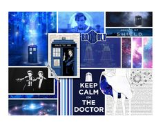 """""""Trust me, I'm The Doctor."""" by my-heart-is-art ❤ liked on Polyvore featuring art"""