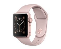 Apple Watch Series 2, 38mm Rose Gold Aluminum Case with Pink Sand Sport Band  http://store.apple.com/xc/product/MNNY2LL/A