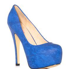 Skyla - Blue  JustFab $59.99
