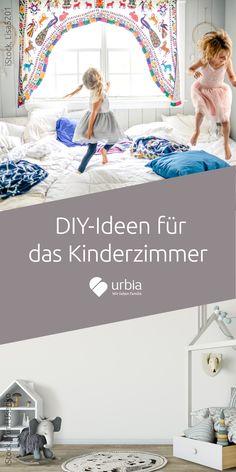 Diese DIY-Kinderzimmer sind nicht nur ausgefallen, sondern sorgen auch für Spiel uns Spaß! #kinderzimmereinrichten #kinderzimmerideen #kinderzimmerwandgestaltung #diykinderzimmer #DIY #kinderbett