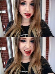 Best Vampire Makeup Idea For Halloween party Up Halloween, Halloween Cosplay, Halloween Outfits, Diy Vampire Costume, Halloween Makeup Vampire, Scary Makeup, Makeup Looks, Sfx Makeup, Zombie Makeup