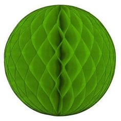 Lime Green Honeycomb Tissue Ball | The TomKat Studio Shop
