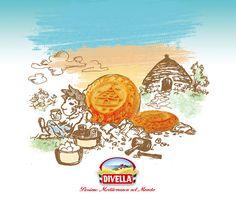 Assapora la #Puglia ad ogni boccone con i #Trulletti #Divella, fragranti frollini con #latte fresco e #uova per una prima #colazione sana e nutriente.