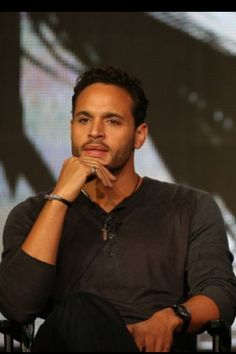 Daniel Sunjata- I would have to say he is the full package ;)