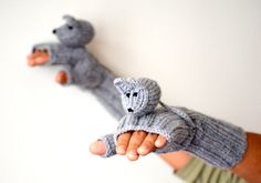 CAMPAİGN // Original Design Cute Mice gloves mice by muratyusuf