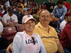 at a Red Sox game with my Pops, 2004 season!