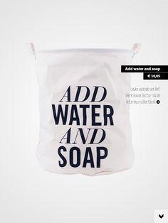 Check out het artikel Laat die wasjes maar komen! in Stek Magazine. Download de app: http://itunes.apple.com/app/id528247006