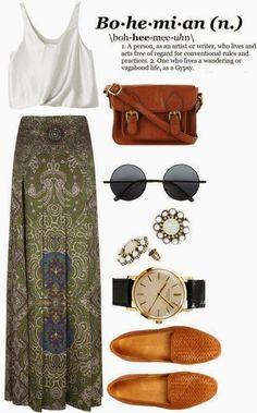 Bohemian style, my inspiration