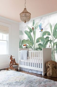 Safari Animal Nursery Boy Wallpaper Mural, Tropical Forest Wallpaper Peel and Stick, Kids Room Removable Wallpaper Jungle Nursery Decor - Healty fitness home cleaning Old Wallpaper, Forest Wallpaper, Peel And Stick Wallpaper, Wallpaper Jungle, Tropical Wallpaper, Nursery Wallpaper, Jungle Nursery, Animal Nursery, Nursery Boy