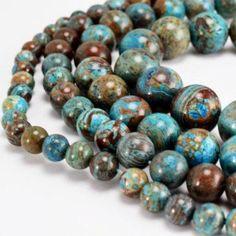 6mm Round Natural Rose Quartz Semi Precious Gemstone Beads 31pcs Half Strand