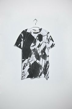 Soulland Faux Playtype — Black Marble T-shirt