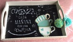 Diy Arts And Crafts, Wood Crafts, Easy Crafts, Coffee Signs, Hand Painted, Painted Wood, Vintage Wood, Painting On Wood, Pop Art