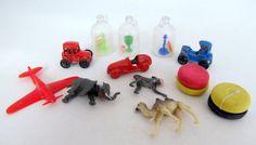 SALE Vintage Plastic Kiddie Charms Cracker Jack by teresatudor, $9.99