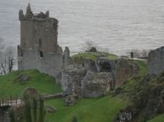 This looks just like the old castle near Cullen, Scotland where my grandfather played as a boy and I got to visit when I went there.