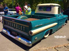 Chevrolet Apache at the Victorian Hot Rod show