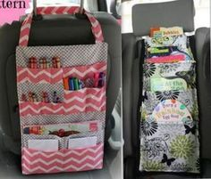 Faire un vide poche pour voiture, modèles et tutos - Baby Couture, Couture Sewing, Sewing Hacks, Sewing Projects, Sewing Tips, Models Men, Creation Couture, Kids And Parenting, Purses And Bags
