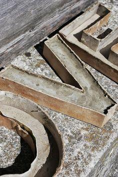 Beton buchstaben selber machen for Dekorieren 9 buchstaben