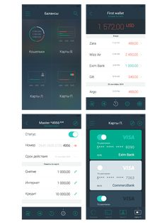 iOS and Android mobile Application, designed for online payment optimization, including a new payment instruments for the most convenient payment process.