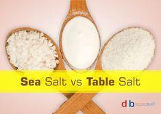 Sea Salt vs Table Salt: Some Interesting Facts Table Salt, Interesting Facts, Sea Salt, Soldiers, Fun Facts, Times, Food, Meals, Yemek