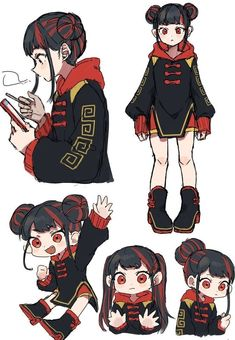 Character Design Animation, Female Character Design, Character Design References, Character Design Inspiration, Character Concept, Character Art, Anime Character Drawing, Cute Art Styles, Cartoon Art Styles