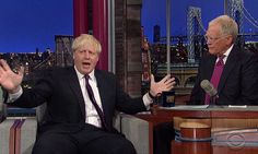 Boris Johnson at Late Show with David Letterman. damn funny!!