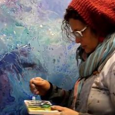 Encaustic Art, The Creator, Texture, Watch, Studio, Artist, Painting, Inspiration, Color