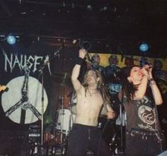 Nausea - anarcho-crust punk band from New York