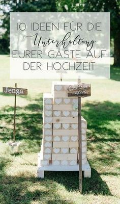 10 ideas for keeping your guests busy and entertaining .- 10 ideas for entertaining and occupying your guests in the afternoon with lawn games and wedding games games # lawn games - Wedding Tags, Wedding Blog, Diy Wedding, Budget Wedding, Destination Wedding, Wedding Planning, Casual Wedding, Wedding Ceremony, Fall Wedding