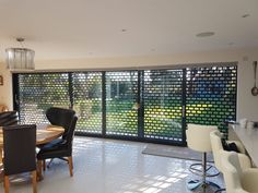 Security Shutters, Window Security, Roll Down Hurricane Shutters, Barndominium Floor Plans, Roller Shutters, Grill Design, Take Me Home, Open Plan Living, Home Projects