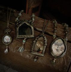 Tributes to the lovely, sacred & winged.... by parrish relics, via Flickr