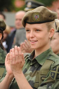 Women in the Serbian army