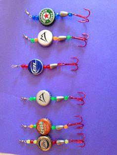 Homemade fishing lures. http://www.makefishlures.com/?hop=kergan007                                                                                                                                                      More