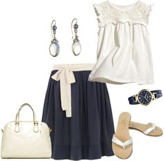"""""""Day Out 1"""" by younghomemakers on Polyvore"""