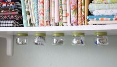 Baby food jar storage!