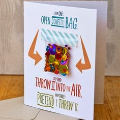 Adorable Birthday Card Idea For Long Distance Friends And Relatives Confetti