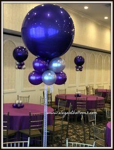 purple orbz centerpiece