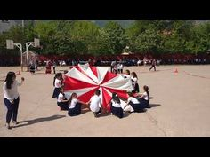 23 NİSAN Şerit-Bayrak Gösterisi (10.Yıl Marşı) HARİKA KOREOGRAFİ..! - YouTube Sports Day, School Sports, Dolores Park, Youtube, Pinocchio, Telugu, Fancy Dress, Dancing, Babies