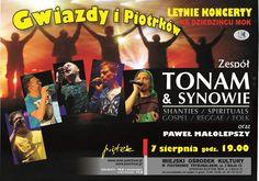 Letnie koncerty na Dziedzińcu MOK w Piotrkowie Trybunalskim
