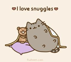 Pusheen the cat. i've just recently started seeing Pusheen everywhere and he is so funny and cute eeeeep! Gif Pusheen, Pusheen Love, Pusheen Stuff, Crazy Cat Lady, Crazy Cats, Cats Wallpaper, Beau Gif, Animal Gato, Image Chat