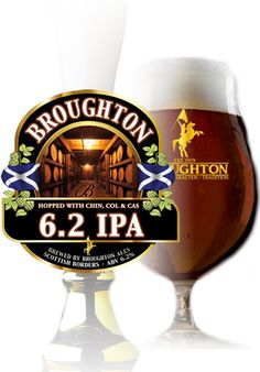 Meet Broughton's newest member to the family, the 6.2 IPA. This beer is loaded with Chinook, Cascade and Columbus hops. Using quadruple the hops in a typical IPA, this beer is sure to give you hop blast you are looking for.