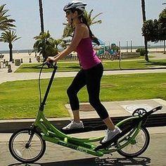 Bicycle + Elliptical = Elliptigo I soooo want one of these!!!!!!!!!!!