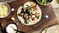 BBC - Food - Recipes : Spicy potato wraps
